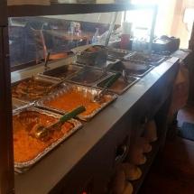 Soul Food Buffet Line