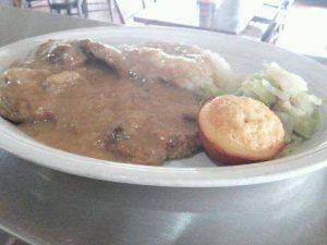 Smothered Pork Steak